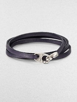 Miansai - Bind Leather Wrap Bracelet