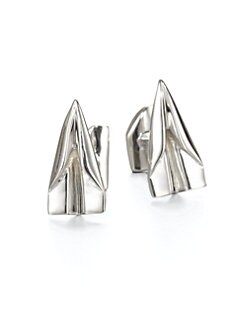 Robin Rotenier - Paper Plane Cuff Links