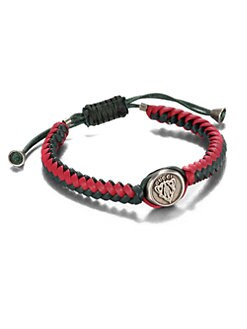 Gucci - Woven Leather Bracelet