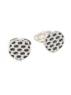 Gucci - Interlocking Cuff Links