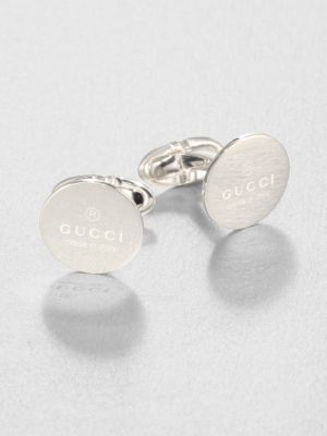 GUCCI Trademark Cuff Links
