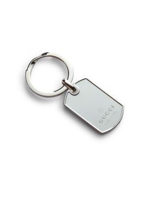 Dog Tag Key Ring
