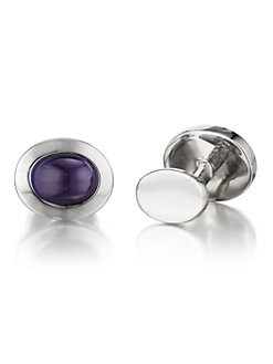 Robin Rotenier - Oval Cuff Links
