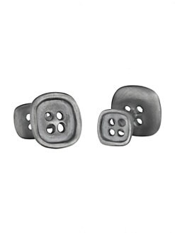 Robin Rotenier - Square Button Cuff Links