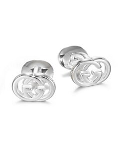 Gucci - Interlocked GG Cuff Links