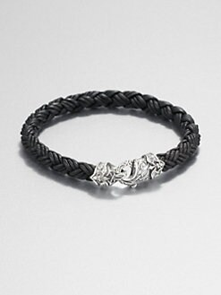 Scott Kay - Leather Equestrian Bracelet