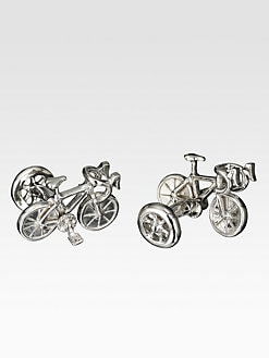 Robin Rotenier - Bicycle Cuff Links