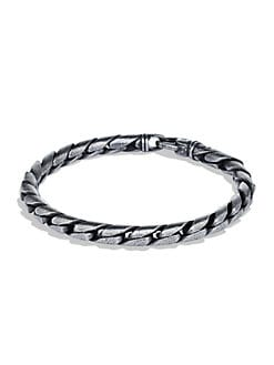 David Yurman - Cobra Stippled Bracelet