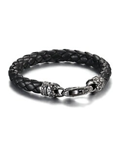Stephen Webster - London Calling Leather Bracelet