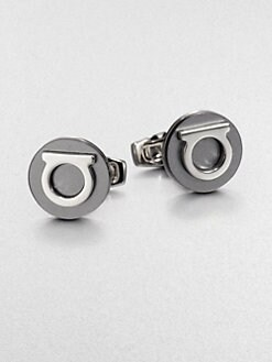 Salvatore Ferragamo - Gem Strato Cuff Links