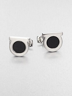 Salvatore Ferragamo - Gem Eye Cuff Links
