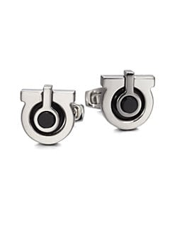 Salvatore Ferragamo - Gem Horse Cuff Links