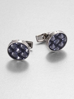 BOSS Black - Anisso Round Cuff Links