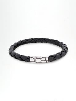 John Hardy - Leather Cord Bracelet