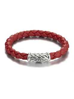 David Yurman - 8mm Woven Rubber Bracelet