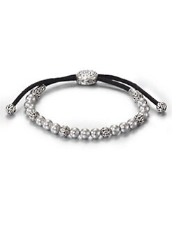 John Hardy - Batu Classic Silver Beaded Bracelet