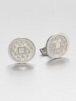John Hardy - Sterling Silver Coin Cuff Links