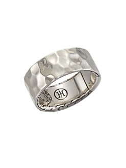 John Hardy - Sterling Silver Hammered Ring