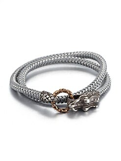 John Hardy - Braided Wrap Sterling Silver Bracelet