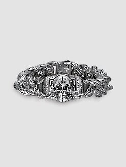 Scott Kay - UnKaged Skull Bracelet