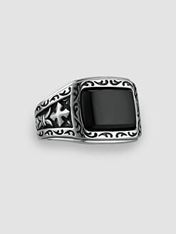 Scott Kay - UnKaged Onyx Ring