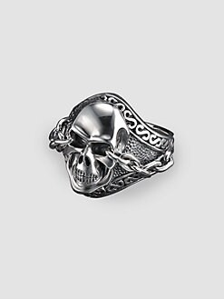 Scott Kay - UnKaged Skull Ring