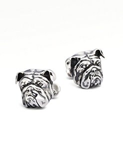 Stephen Webster - Silver Bulldog Cuff Links