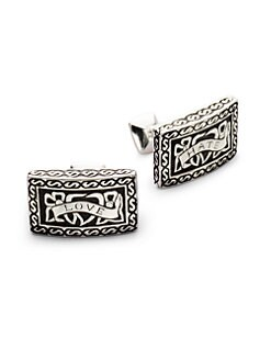 Stephen Webster - Silver Heartbreaker Cuff Links