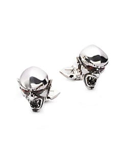 Stephen Webster - Sterling Silver Vampire Cuff Links