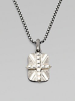 Stephen Webster - Sterling Silver Union Jack Pendant