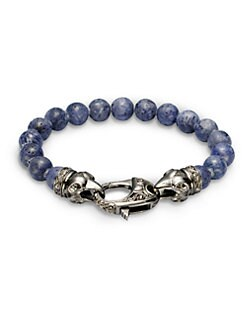 Stephen Webster - Ravens Head Beaded Bracelet