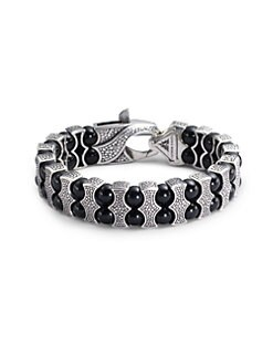 Stephen Webster - Black Onyx & Sterling Silver Bracelet