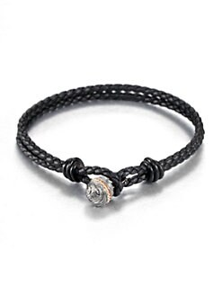 Stephen Webster - Braided Leather Bracelet