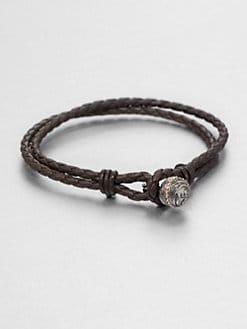 Stephen Webster - Woven Leather Bracelet