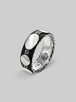 John Hardy - Slim Silver Band Ring