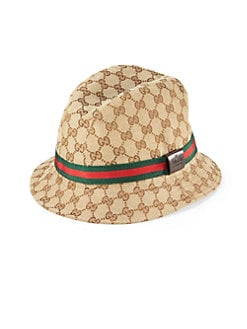 Gucci - Canvas Bucket Hat