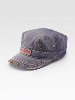True Religion - Pinstripe Military Cap
