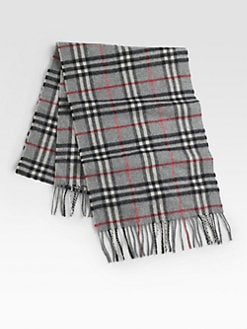 Burberry - Cashmere Check Scarf
