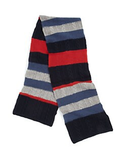 Portolano - Striped Wool Scarf