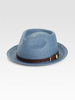 Mr. KIM by Eugenia Kim - Tony Straw Porkpie Fedora