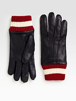 Bally - Leather Gloves