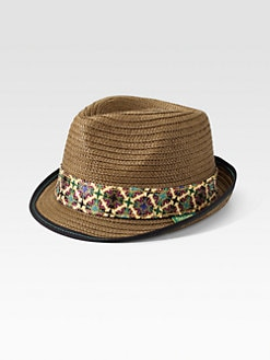 Robert Graham - Straw Fedora