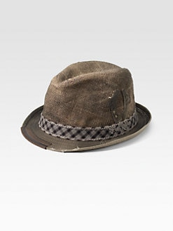 True Religion - Jute Trilby Hat