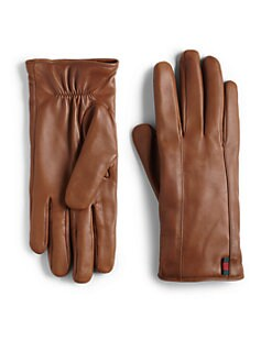 Gucci - Leather Gloves