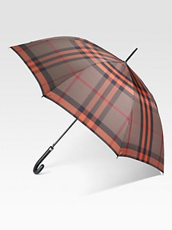 Burberry - Check-Print Folding Umbrella