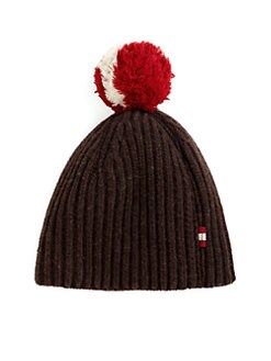 Bally - Pom Pom Knit Hat