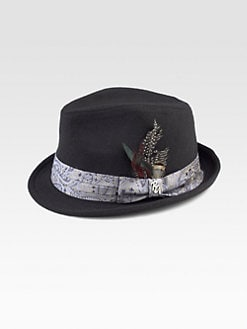 Robert Graham - Lancet Wool Fedora