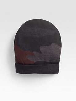 Prada - Camo Print Beanie