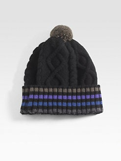 Paul Smith - Striped Beanie