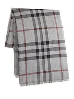 Burberry - Houndstooth Check Scarf